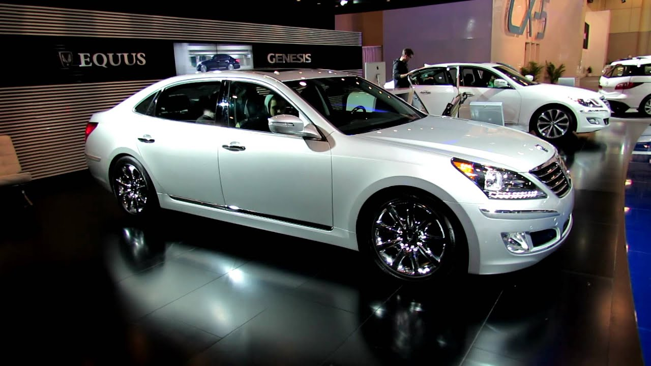 2012 Hyundai Equus Exterior And Interior At 2012 Toronto