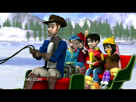 Jingle Bells Christmas Song for Kids | Carol Songs with Lyrics