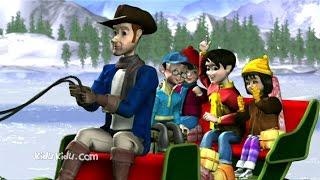 Jingle Bells Christmas Song for Kids   Carol Songs with Lyrics