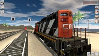 Rail Cargo Simulator 2016 Gameplay (PC HD) [1080p60FPS]
