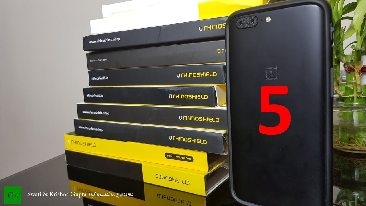 purchase cheap 1aa98 c4291 OnePlus 5 Drop Test with Rhinoshield Bumper Case !!! The Ultimate Drop  Protection.