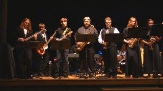 "Caddo Magnet High School Jazz Band - ""Hawaii Five-0"" theme song - Shreveport, LA"