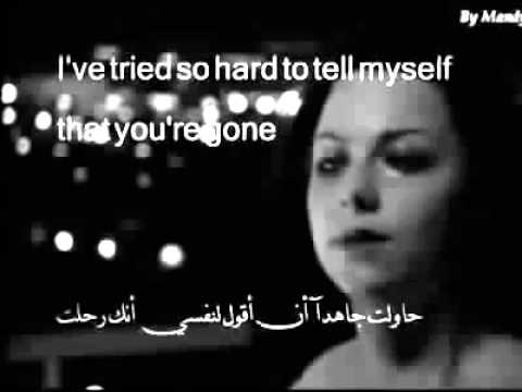 اغنية اجنبية حزينة ابكت العالم و مترجمه باللغتين العربية و الانجليزية Youtube Youtube
