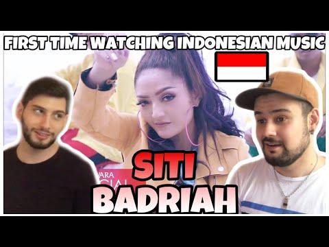 """First Time Watching Indonesian Music- SITI BADRIAH """"Lagi Syantik"""""""