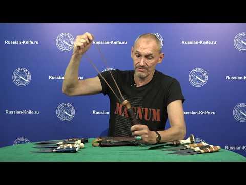 Ножи Алексея Мельницкого представляет сам мастер