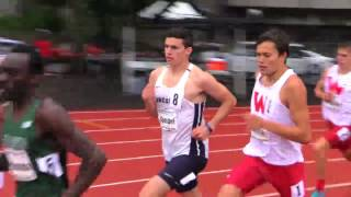 2016 GNAC Champs - Men's 800 Finals (Speidel)