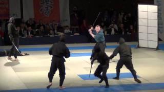 Samuraje vs Ninja - Pokaz