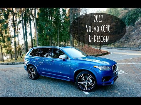 Our Brand New 2017 Volvo XC90 R-Design