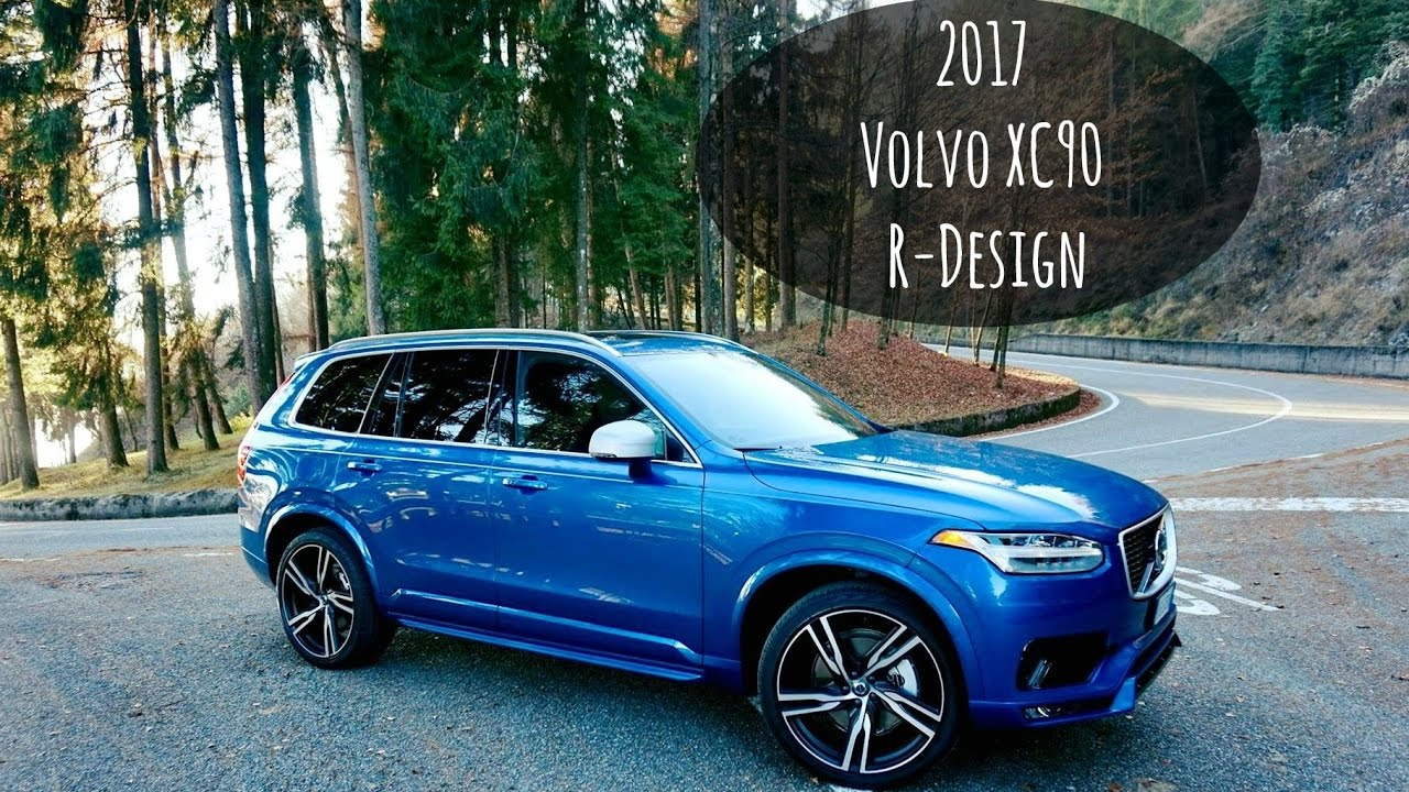 our brand new 2017 volvo xc90 r design youtube. Black Bedroom Furniture Sets. Home Design Ideas