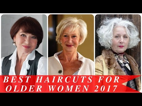 Best haircuts for older women 2017