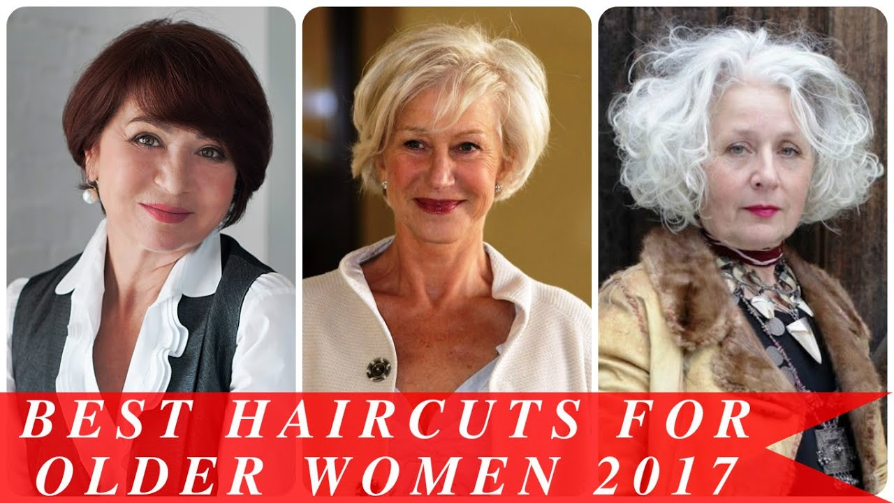 best haircuts for older women 2017 - youtube