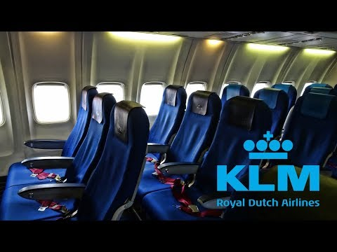 KLM ROYAL DUTCH AIRLINES | STOCKHOLM - AMSTERDAM | ECONOMY CLASS | BOEING 737-800
