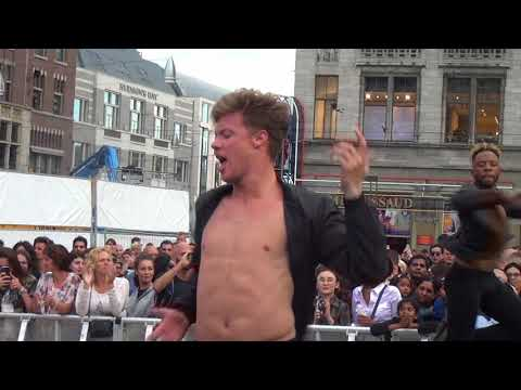 Gay Pride Amsterdam 2017 4th August. Dam Square Party