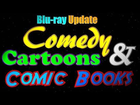 Comedy, Cartoons and Comic Books! Blu-ray Update!