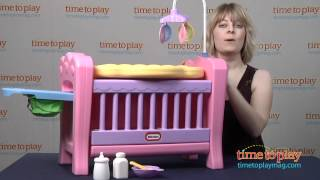Little Tikes 4-in-1 Baby Born Nursery From Mga Entertainment