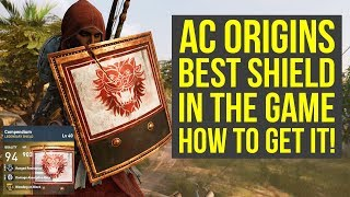 Assassin's Creed Origins Tips BEST SHIELD & How To Get It (AC Origins Best Weapons)