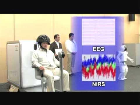 Honda Research Institute: Brain-Machine Interface (BMI) controls the ASIMO ROBOT 2009