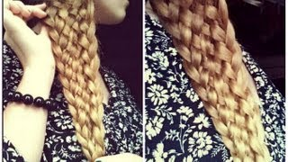 Easy Eleven Strand Braid with NO BOBBY PINS!