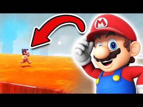 Über LAVA laufen [GLITCH] in Super Mario Odyssey 🔥😁