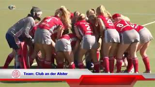 1. Feldhockey-Bundesliga Damen DHC vs. CadA 29.09.2018 Highlights