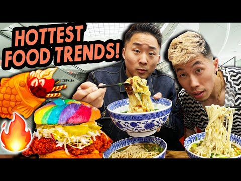 The BEST vs WORST ASIAN FOOD TRENDS of 2020 | Fung Bros