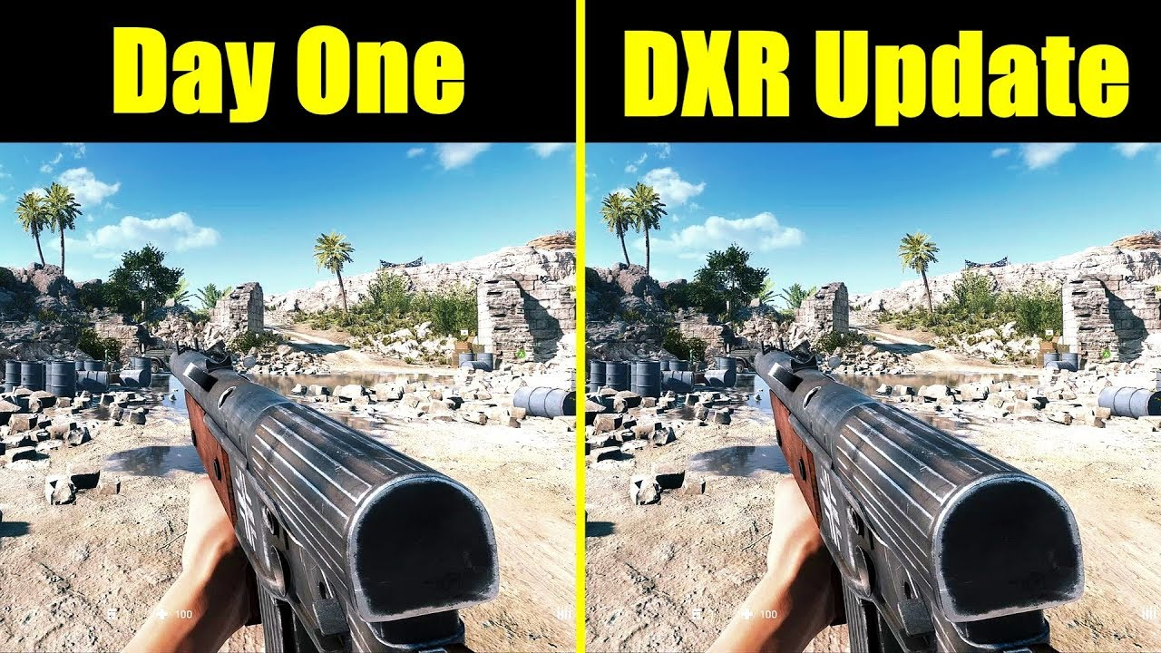 New DXR Patch Substantially Improves Nvidia RTX Ray Tracing