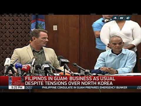 PH consulate prepares emergency bunker in Guam