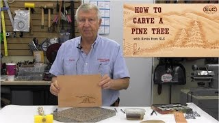 How to Carve a Leather Pine Tree