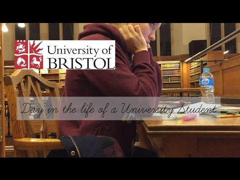 Day in the life of a University Student | Bristol University | Exam Stress