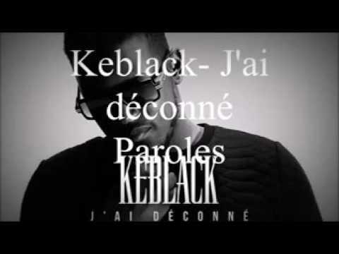 keblack jai déconné video