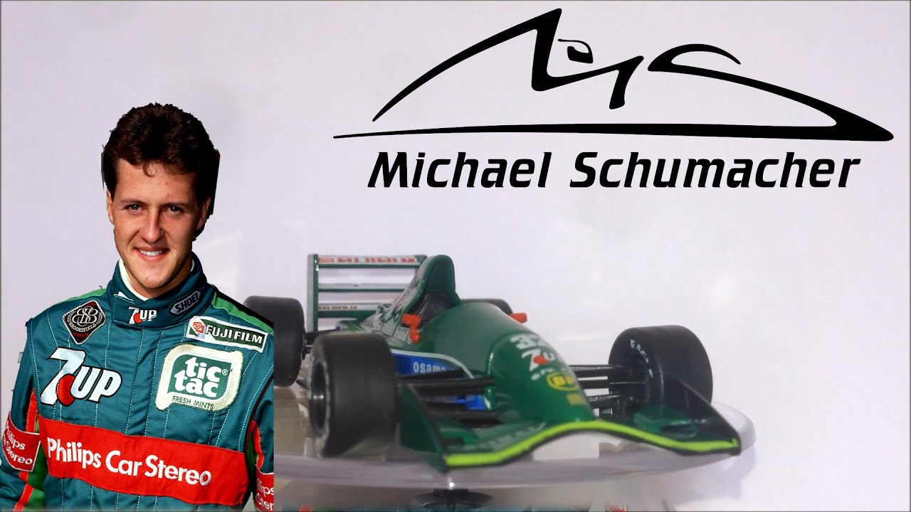 Jordan 191 - Michael Schumacher - F1 Auto Collection 1:43 - YouTube