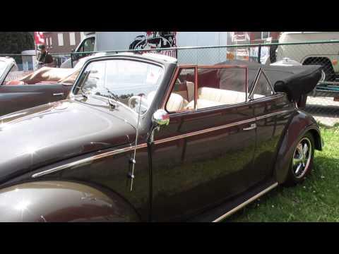 1958 vw beetle convertible pt1 @ lubbeek 2013