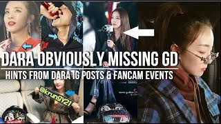 dara obviously missing g dragon hints from daras post updates