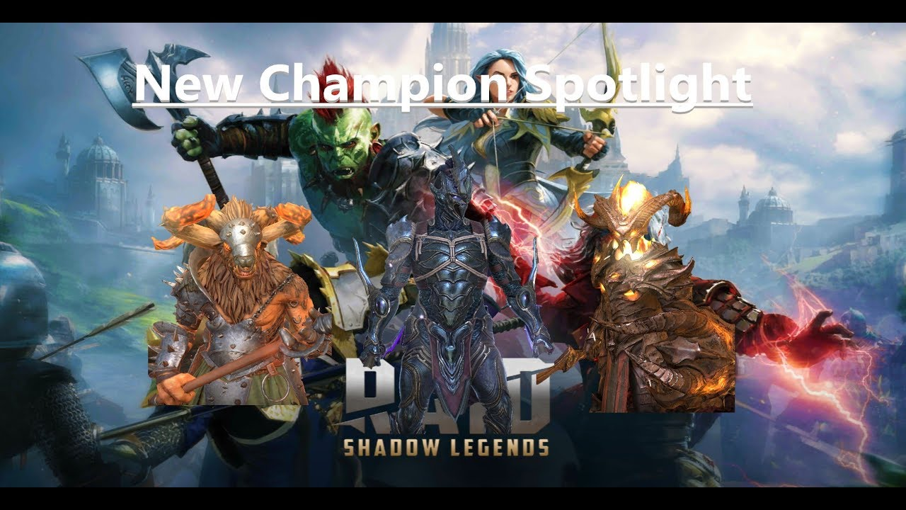 Raid: Shadow Legends - New Champion Spotlight - May 2019