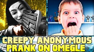 ANONYMOUS HACKERS RETURN TO TROLL ON OMEGLE! (Hacker Trolling) #2