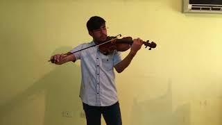 Mozart Volin Concerto Nro 4. Primer Mov.-Bach Violin Sonata Nro 1. Adagio.
