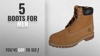 Top 10 Boots For Men [2018]: Timberland Men