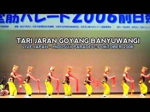 Tari Gandrung & Tari Jaran Goyang Banyuwangi Live Osaka JEPANG 2006