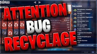 (PATCH) NE RECYCLEZ PLUS VOS SCHEMAS !!! - FORTNITE SAUVER LE MONDE