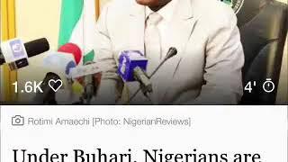 Full Audio: Rotimi Amaechi Secret Tape On Buhari
