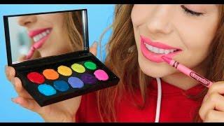 5 ways to turn crayons into makeup