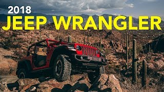 2018 Jeep Wrangler JL Review - First Drive
