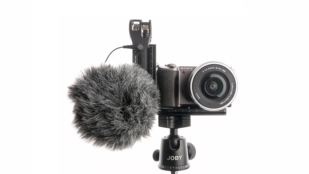 Gadget Place Bracket with Two Shoes for Microphone /& Video Light for Sony NEX a5000