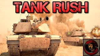 Combat Mission: Shock Force - Tank Rushing The Enemy!