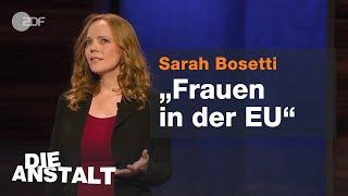 Sarah Bosetti: Vom Sexobjekt zum Altfleischcontainer