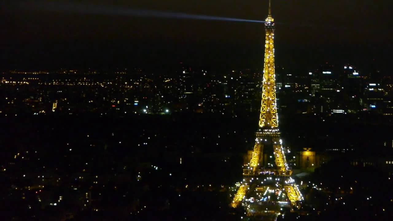 paris bei nacht der eiffelturm glitzert glittering eiffel tower youtube. Black Bedroom Furniture Sets. Home Design Ideas