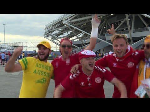 مونديال 2018: الفيديو يبقي على حظوظ استراليا والدنماركيون يتذمرو