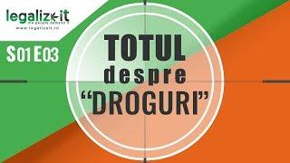 """Interviu cu un consumator de Ecstasy S01E03 Totul despre &quotdroguri"""" Legalizeit.ro"""