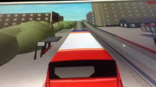 UK bus simulator | Roblox | Lowden park&ride to Maidsburgh airport | Time lapse