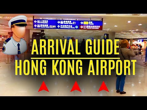 Hong Kong Airport Arrival Guide Video. Tips For Your Arrival in Hong Kong.